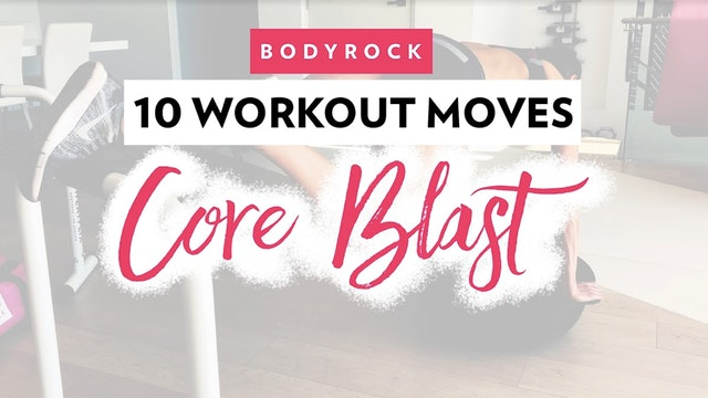 Day 5 QuickHIIT: 10 Core Blast Workou...