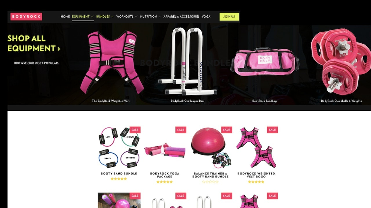 BodyRock Equipment & Gear