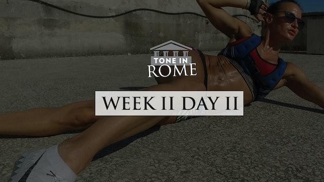 Tone in Rome | Week 2 | Day 2