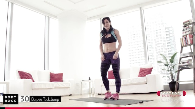 Melissa Bender | BodyRock Bootcamp | Week 6