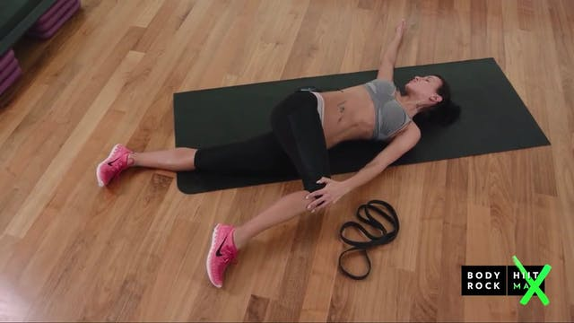 BodyRock HiitMax - Laying Stretch