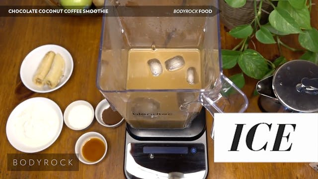Chocolate Coconut Coffee Smoothie