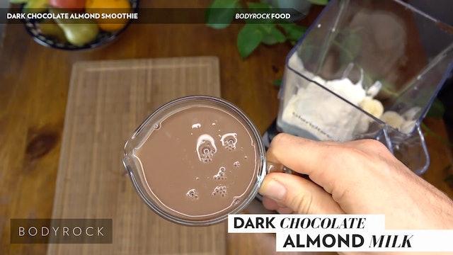 Dark Chocolate Almond Smoothie