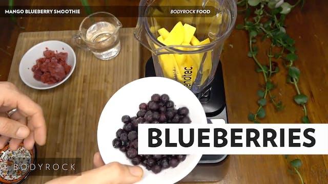 Mango Blueberry Smoothie