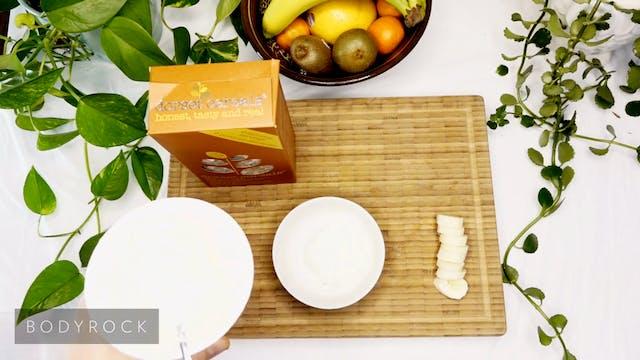 Yogurt Muesli & Fresh Fruit