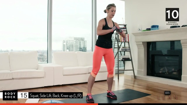 BodyRock Lean | Day 6 | Bosu Workout