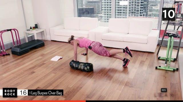 BodyRock Lean   Day 9   Sandbag Workout
