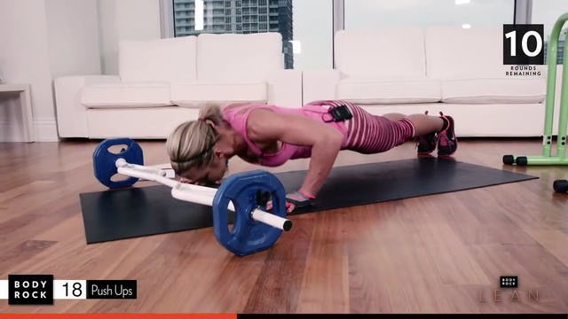 BodyRock Lean   Day 10   Full Body Weighted Workout