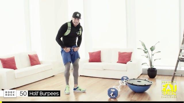 BodyRock Fat Burn Challenge | Day 5