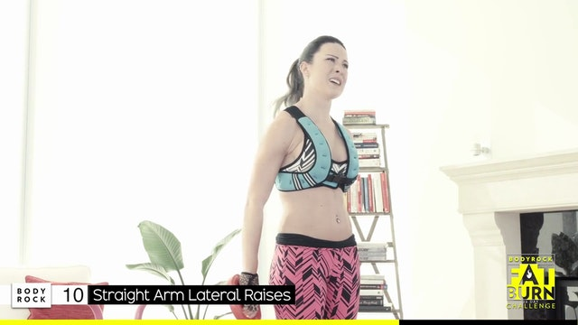 BodyRock Fat Burn Challenge | Day 8