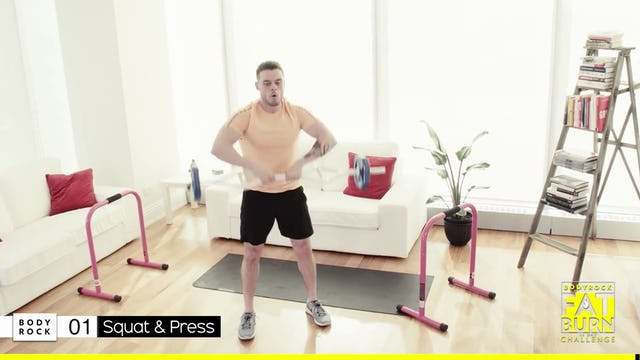 BodyRock Fat Burn Challenge | Day 16