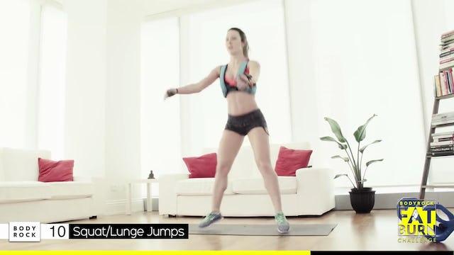 BodyRock Fat Burn Challenge | Day 18