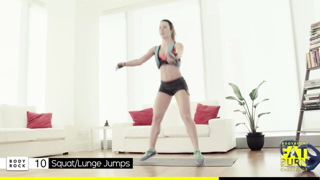 BodyRock Fat Burn Challenge | Day 18