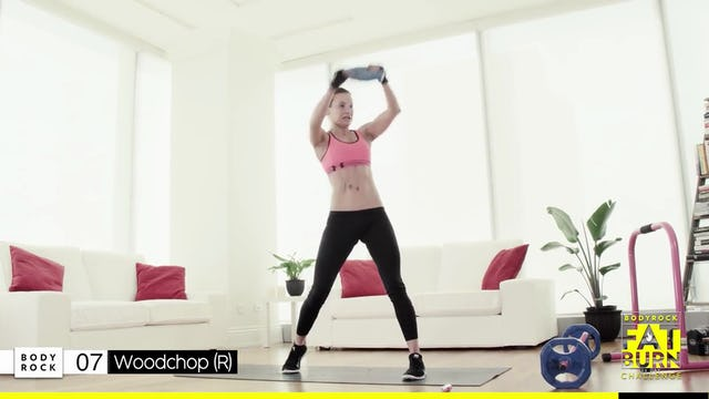 BodyRock Fat Burn Challenge | Day 26