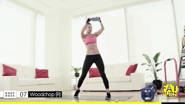 BodyRock Fat Burn Challenge | Day 26