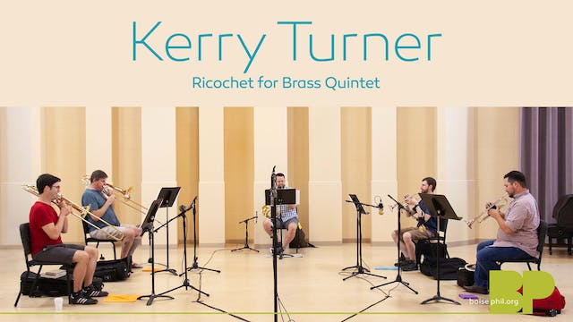 Kerry Turner - Ricochet for Brass Qui...
