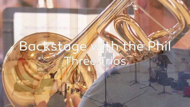 Backstage Three Trios