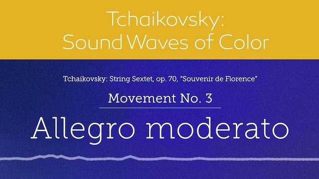 Tchaikovsky: Sound Waves of Color - Movement 3