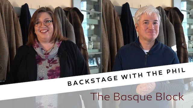 Backstage - The Basque Block