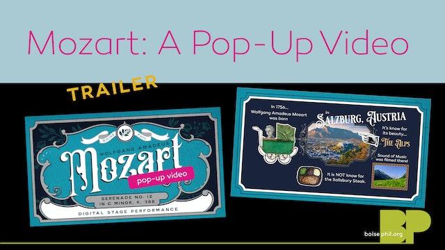 Mozart: A Pop-up Video - Trailer