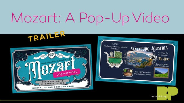 Mozart: A Pop-up Video - Trailer