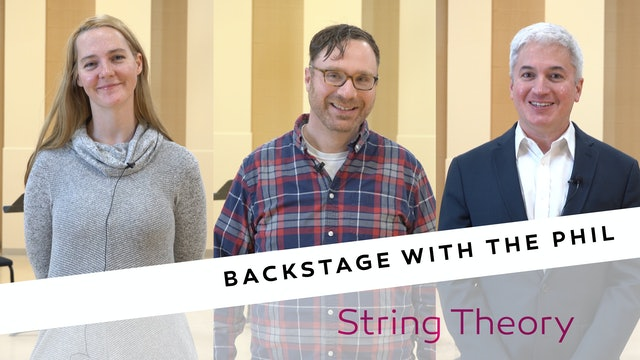Backstage String Theory