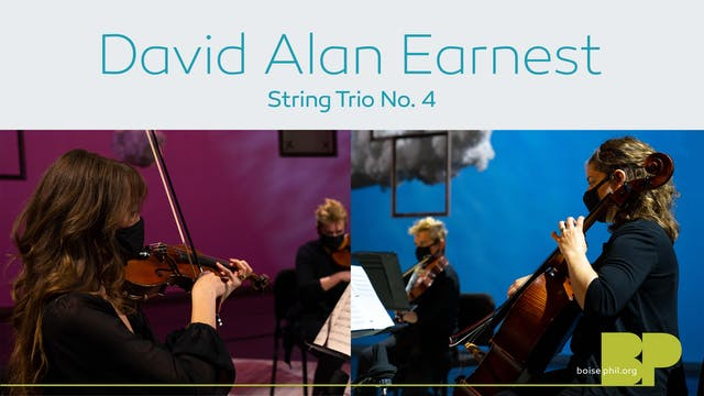 David Alan Earnest - String Trio No. 4