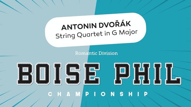 Dvorak - String Quintet No. 2 in G Major