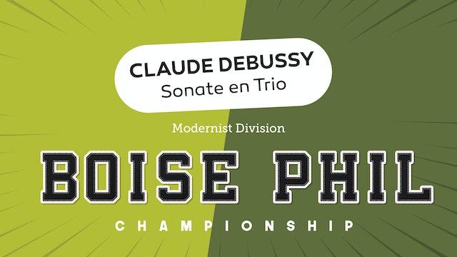 Debussy - Sonata en Trio