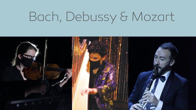 Bach, Debussy & Mozart