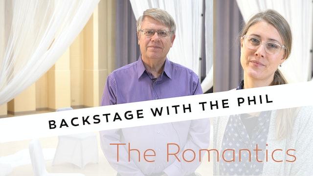 Backstage The Romantics