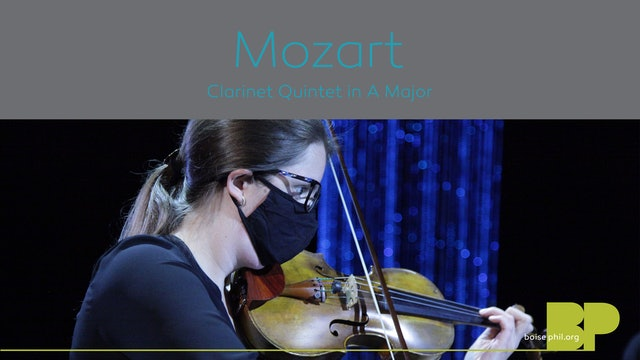 W.A. Mozart: Clarinet Quintet in A Major