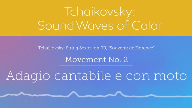 Tchaikovsky: Sound Waves of Color - Movement 2