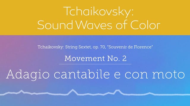 Tchaikovsky: Sound Waves of Color - M...
