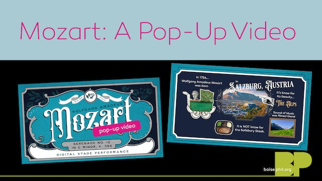 Mozart: A Pop-up Video