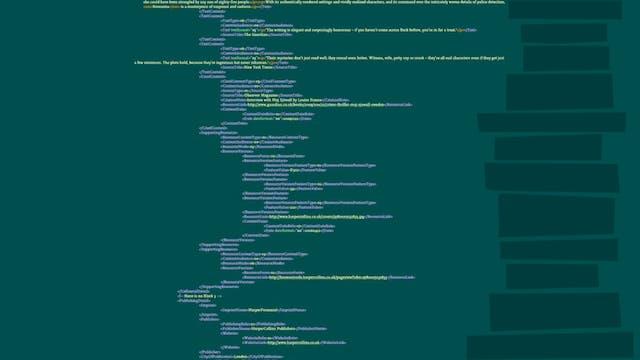 ONIX-04-ONIX IS BUILT USING XML SYNTAX