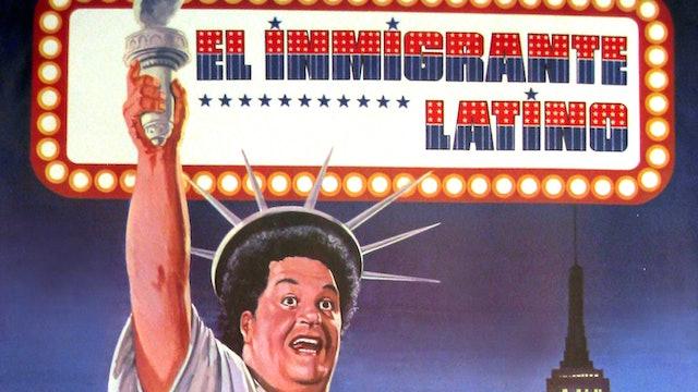 El inmigrante latino - Póster