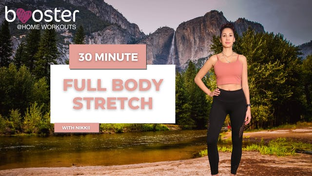 30' full body stretch at the Yosemite Park