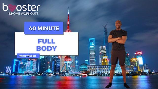 40' Full Body Training in front of the Shanghai Skyline