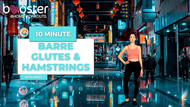 10' Barre Intensity focus glutes and hamstrings in Chinatown, Melbourne