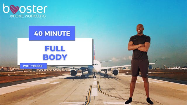 40' Full Body Training on Runway 35