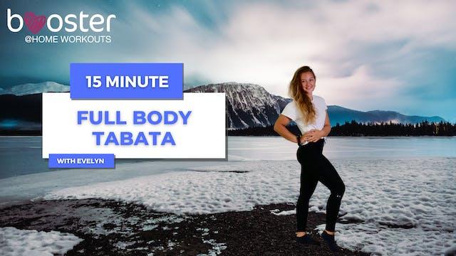 15' Full Body Tabata in front of the Thunder Mountain in Alaska