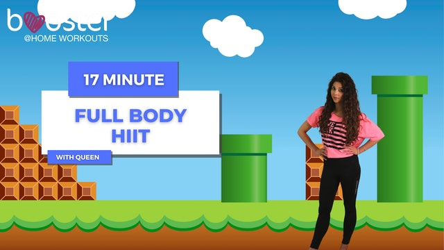 17' HIIT workout in princess Queeny's Wonderland