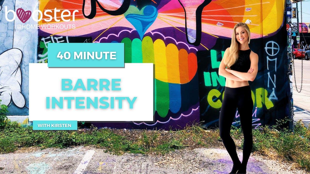 40' Barre Intensity at Wynwood Walls, Miami