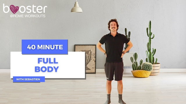 40' full body workout in a flat with cactus
