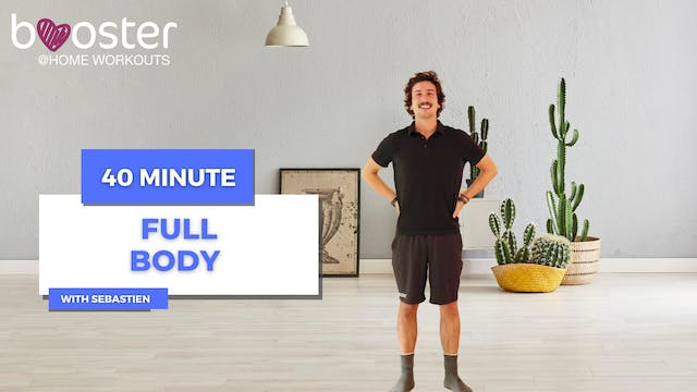40' full body workout in a flat with ...
