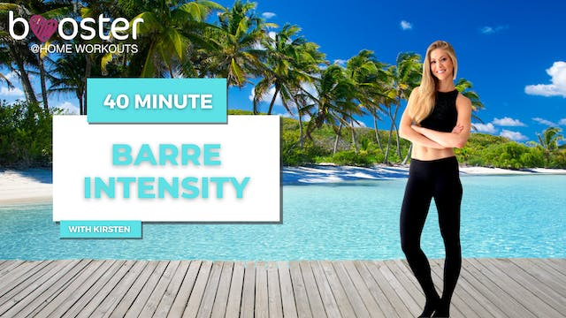 40' Barre Intensity in the Caribbean