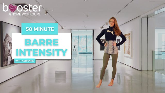 50' Barre Intensity at the Art Centre...