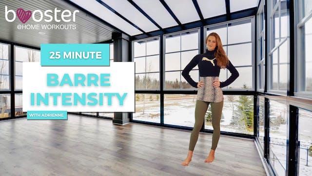 25' Barre Intensity in a studio, Toronto, Canada