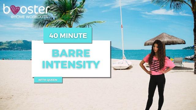 40' Barre Intensity on a beach in Rio de Janeiro